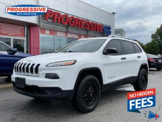 Used 2016 Jeep Cherokee Sport for sale in Sarnia, ON