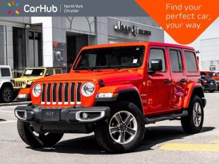 Used 2020 Jeep Wrangler Unlimited Sahara 4x4 Sound & Nav Grp Cold Weather Grp 2.0L Turbo for sale in Thornhill, ON