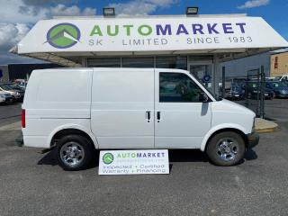 Used 2004 Chevrolet Astro Cargo Van 2WD FREE BCAA! FREE WRNTY! IN HOUSE FINANCE IT! for sale in Langley, BC