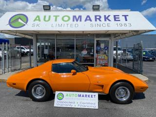 Used 1977 Chevrolet Corvette L48 STINGRAY T -TOPS & A/C RARE! FREE BCAA MBRSHP & WRNTY! for sale in Langley, BC