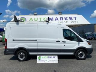 Used 2017 Ford Transit 250 Van Med. Roof W/RACK & SHELVES! CLEAN! 148-in. WB FREE BCAA & WRNTY! for sale in Langley, BC