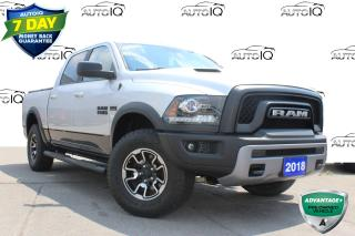 Used 2018 RAM 1500 Rebel CREW CAB REBEL 4X4 CERTIFIED! for sale in Hamilton, ON