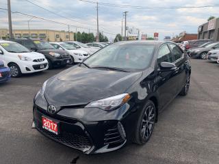 Used 2017 Toyota Corolla SE for sale in Hamilton, ON