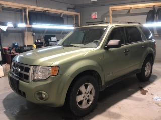 Used 2008 Ford Escape ****AS IS**** Cruise Control * Keyless Entry * Automatic Headlights * Fog Lights * Auto Dimming Rear View Mirror * AM/FM/SiriusXM/Aux * Automatic Driv for sale in Cambridge, ON