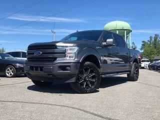 Used 2018 Ford F-150 Lariat CREW | LARIAT | SPORT FX4 | 502A | PANO ROOF | for sale in Stittsville, ON