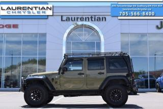 Used 2013 Jeep Wrangler Unlimited Rubicon - 4WD !! MANUAL !! for sale in Sudbury, ON