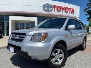 Used 2006 Honda Pilot EX-L wRes V6 at for sale in Surrey, BC