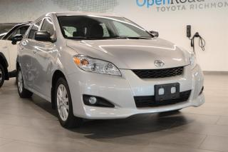 Used 2010 Toyota Matrix FWD 4A for sale in Richmond, BC