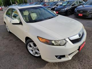 Used 2009 Acura TSX Premium/6SP/LEATHER/ROOF/LOADED/ALLOYS for sale in Scarborough, ON