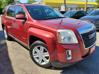 Used 2010 GMC Terrain SLT-1/LEATHER/ROOF/LOADED/ALLOYS for sale in Scarborough, ON