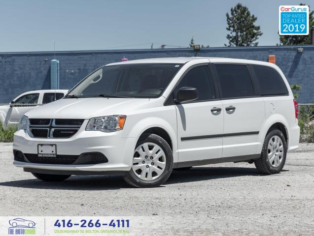 2016 Dodge Grand Caravan Canada Value Package|One Owner|Clean Carfax|