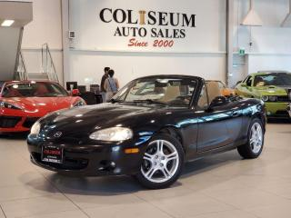 Used 2004 Mazda Miata MX-5 GS **6 SPEED MANUAL-LEATHER-CERTIFIED** for sale in Toronto, ON