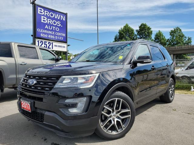 2017 Ford Explorer Sport, 4WD, LOCAL