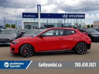 New 2022 Hyundai Veloster N VELOSTER- N-LINE for sale in Edmonton, AB
