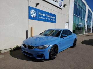 Used 2015 BMW M4 M4 | CABRIOLET | SUPER RARE | YASMARINA BLUE | LOW KMS for sale in Edmonton, AB