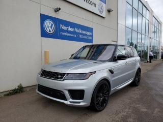 Used 2018 Land Rover Range Rover Sport Autobiography Dynamic | Massage Seats | Supercharged for sale in Edmonton, AB