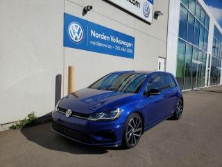 Used 2018 Volkswagen Golf R TECH PKG | UPGRADED WHEELS | DSG | VW CERTIFIED for sale in Edmonton, AB