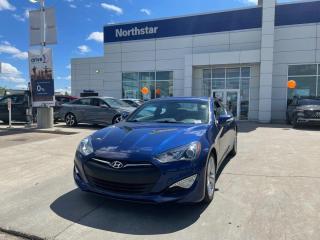 Used 2016 Hyundai Genesis Coupe GT MANUAL/BREMBOBRAKES/SPOILER/LEATHER/BACKUPCAM/NAV/HEATEDSEATS for sale in Edmonton, AB