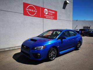 Used 2017 Subaru WRX STI SPORT TECH! - LOW KMS! / Used Subaru Dealership for sale in Edmonton, AB