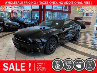 Used 2014 Ford Mustang V6 Coupe - Accident Free / Local / No Dealer Fees for sale in Richmond, BC