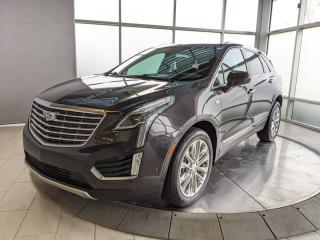 Used 2017 Cadillac XT5 PLATINUM MODEL - SURROUND CAMERAS! for sale in Edmonton, AB