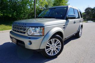 Used 2011 Land Rover LR4 1 OWNER / 7 PASSENGER /V8 HSE LUXURY /NO ACCIDENTS for sale in Etobicoke, ON