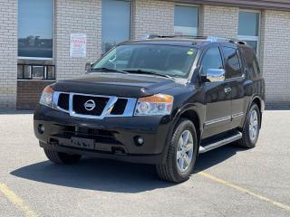 Used 2013 Nissan Armada PLATINUM 4X4 NAVIGATION/CAMERA/7 PASSENGER for sale in North York, ON
