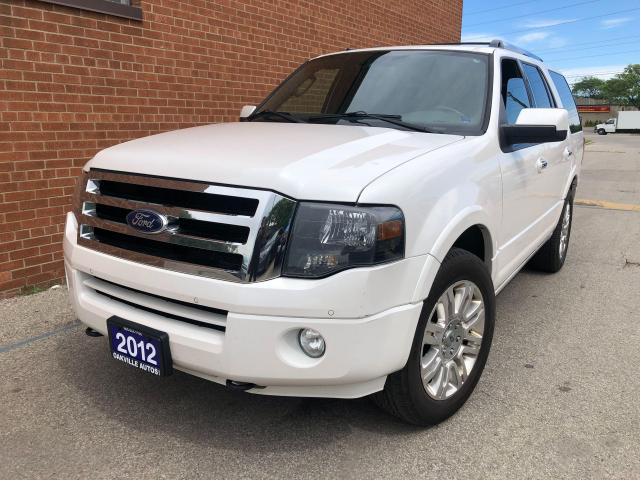 2012 Ford Expedition 8 PASSENGERS/Limited/DVD/NAVI/CAMERA/LEATHER