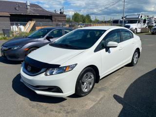 Used 2015 Honda Civic LX / HEATED SEATS / AUTO / CLEAN CAR FAX!! for sale in Truro, NS