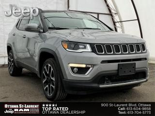 New 2021 Jeep Compass LIMITED for sale in Ottawa, ON