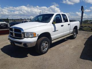 Used 2004 Dodge Ram 2500 SLT for sale in Innisfil, ON