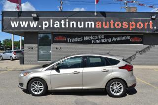 Used 2017 Ford Focus SE HEATED STEERING WHEEL!! BACK UP CAMERA!! REMOTE START!! for sale in Saskatoon, SK