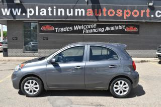 Used 2019 Nissan Micra JUST ARRIVED!! PRICED TO MOVE!! for sale in Saskatoon, SK
