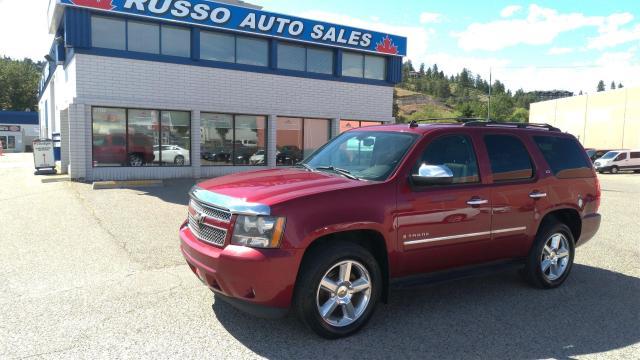 2009 Chevrolet Tahoe LTZ - 4x4, 6.2L V8, 8 Passenger