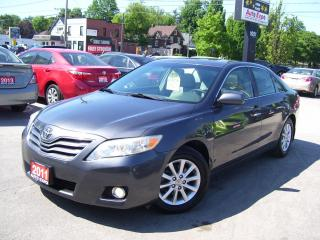 Used 2011 Toyota Camry XLE,BLUETOOTH,GPS,LEATHER,SUNROOF,CERTIFIED,FOGS for sale in Kitchener, ON