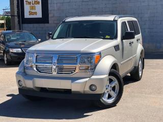Used 2008 Dodge Nitro SLT/RT 4X4, NAVIGATION, SUNROOF, CRUISE CONTROL, DRIVER POWER SEAT, AUX & MORE for sale in Saskatoon, SK