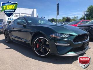 Used 2019 Ford Mustang BULLITT Bullitt Edition!! One Owner no Accidents for sale in Hamilton, ON