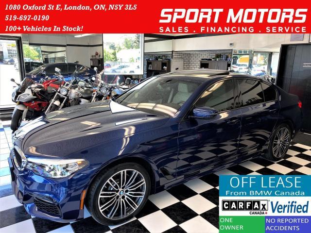 2019 BMW 5 Series 530i xDrive+AdaptiveCruise+CooledSeats+CLEANCARFAX
