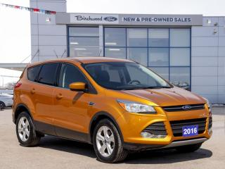 Used 2016 Ford Escape SE 1 OWNER   PWR WINDOWS   CRUISE for sale in Winnipeg, MB