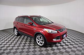 Used 2015 Ford Escape Titanium AWD | LEATHER | REMOTE START | HEATED SEATS for sale in Huntsville, ON