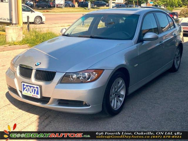 2007 BMW 3 Series 328i LOW KM NO ACCIDENT SUNROOF NAVI CERTIFIED