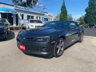 Used 2014 Chevrolet Camaro 2LT-V6-NAVI-REAR VIEW CAMERA for sale in Stoney Creek, ON