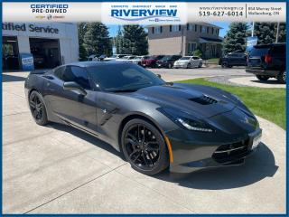 Used 2017 Chevrolet Corvette Stingray Z51 One Owner | No Accidents | Dual Roof Package | Bose Speakers | Head's Up Display for sale in Wallaceburg, ON