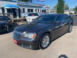 Used 2013 Chrysler 300 Touring-LTHR-ACCIDENT FREE for sale in Stoney Creek, ON