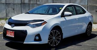 Used 2016 Toyota Corolla S for sale in Sarnia, ON