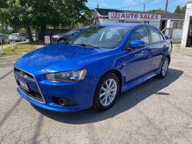 2015 Mitsubishi Lancer Accident Free/Automatic/Htd Seats/BT/Certified
