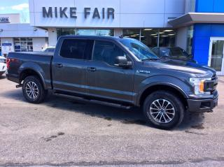 Used 2019 Ford F-150 3.5L Ecoboost, Navigation, Panoramic Roof, FX4 Off Road Package for sale in Smiths Falls, ON