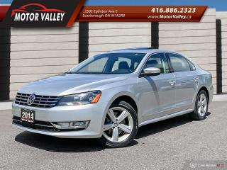 Used 2014 Volkswagen Passat TDI - Navigation / Camera / Sunroof -  No Accident for sale in Scarborough, ON