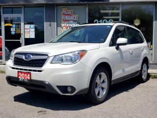 Used 2014 Subaru Forester 5dr Wgn Auto 2.5i Limited for sale in Bowmanville, ON