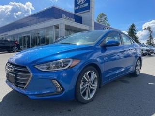 Used 2017 Hyundai Elantra Limited for sale in Duncan, BC